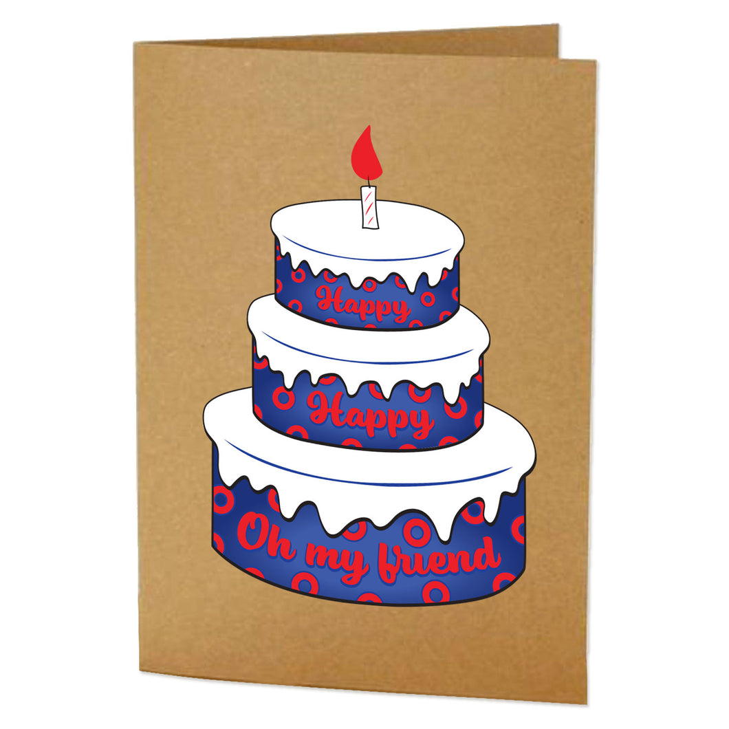 Phish Birthday Card Greeting Card