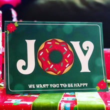 "Load image into Gallery viewer, Phish ""JOY"" Holiday Phishmas Greeting Card"