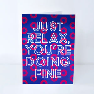 "Phish ""Strange Design"" Greeting Card"