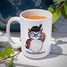 Load image into Gallery viewer, Looking for Owls Mug 15oz