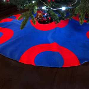 Donut Christmas Tree Skirt, Fishman Donut Tree Skirt