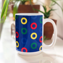 Load image into Gallery viewer, Send in the Clones Phish Donuts 15oz Ceramic Mug