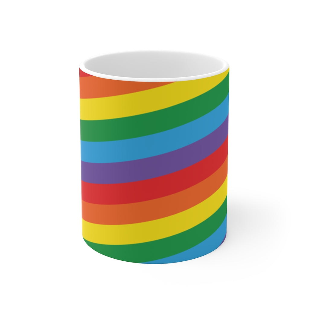 Rainbow Pride Flag Coffee Mug