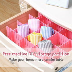 Creative DIY Storage Partition