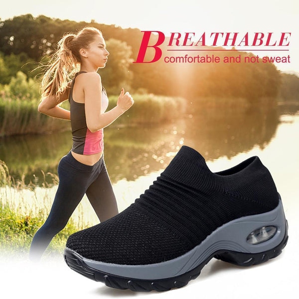 Breathable Air Cushion Board Shoes