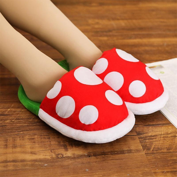 Super Mario Piranha Plant Slippers