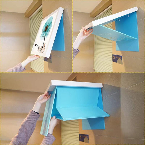 Bathroom Mural Folding Cabinet