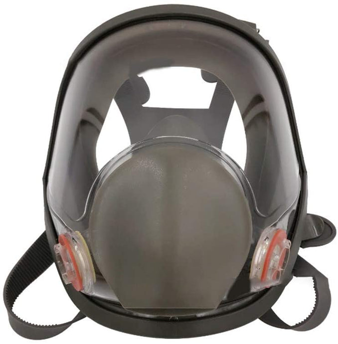 Full Facemask Respirator Facepiece Gas Mask for Spray Painting Benzene Preventio (Without Canister) - jointstars.co