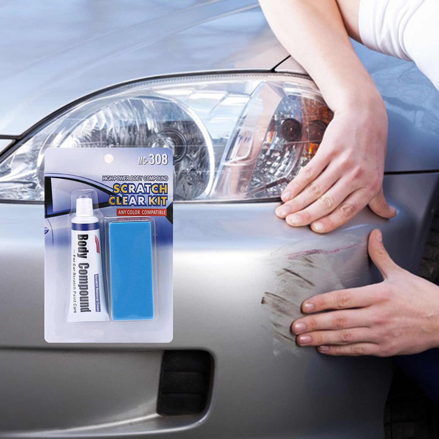 Car Scratch Removal Kit