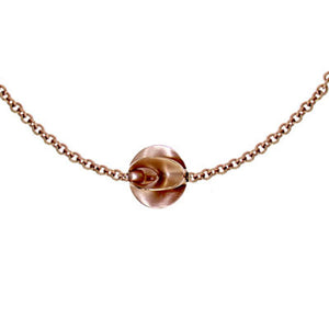 Pink Golden Necklace - Select your Favourite Clasp