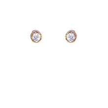 Load image into Gallery viewer, White Diamond Earrings Studs - Select your Favourite Pendants