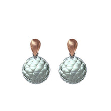 Load image into Gallery viewer, Pink Golden Earrings - Select your Favourite Pendants