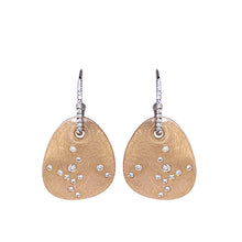 Load image into Gallery viewer, White Golden Diamond Earrings - Select your Favourite Pendants