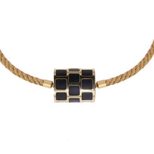 Load image into Gallery viewer, Yellow Golden Twisted Necklace - Select your Favourite Clasp