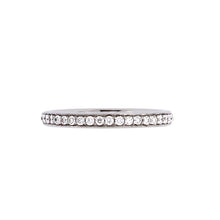 Load image into Gallery viewer, White Golden Ring set with 0.33 Carats of Diamonds