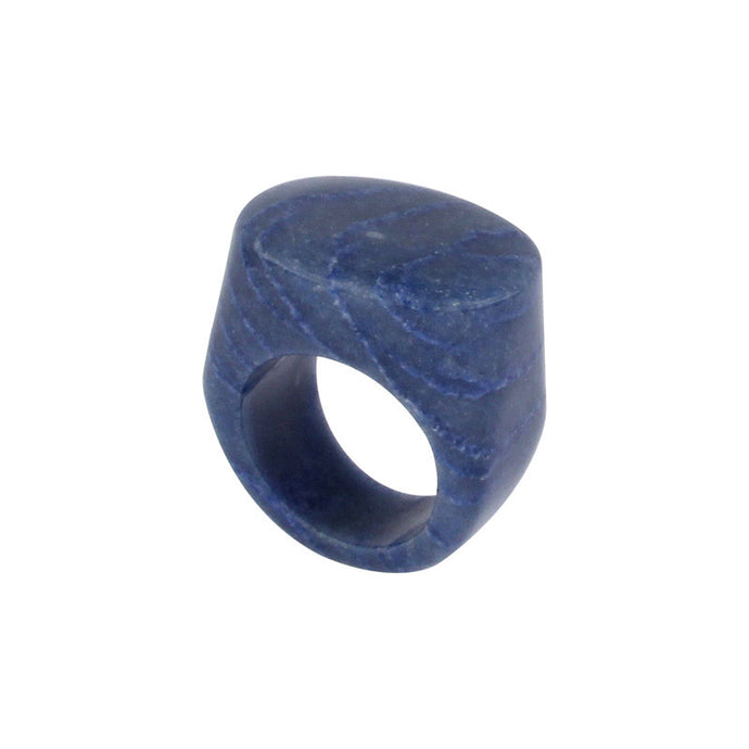 Completely Stone Sodalite Ring
