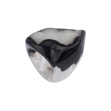 Load image into Gallery viewer, Completely Stone Crystallized Agate Ring