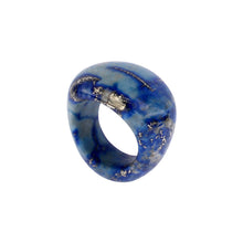 Load image into Gallery viewer, Completely Stone Lapis Lazuli Ring
