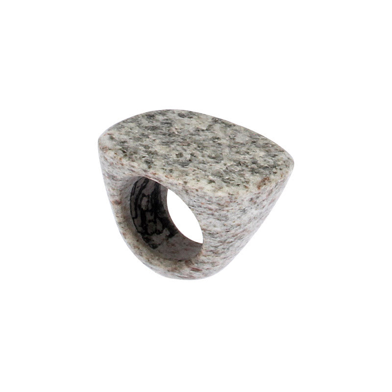 Completely Stone Granite Ring