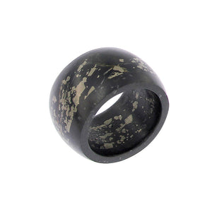 Completely Stone Pyrite with Carbon Ring