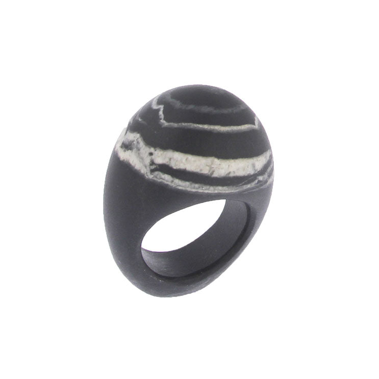 Completely Stone Pebble Ring
