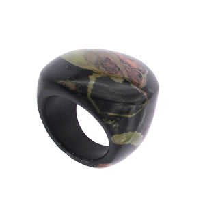 Completely Stone Jasper Ring