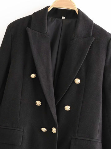 TRENCH COAT WITH METAL BUTTONS