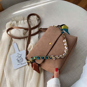 SCRUB LEATHER BAG