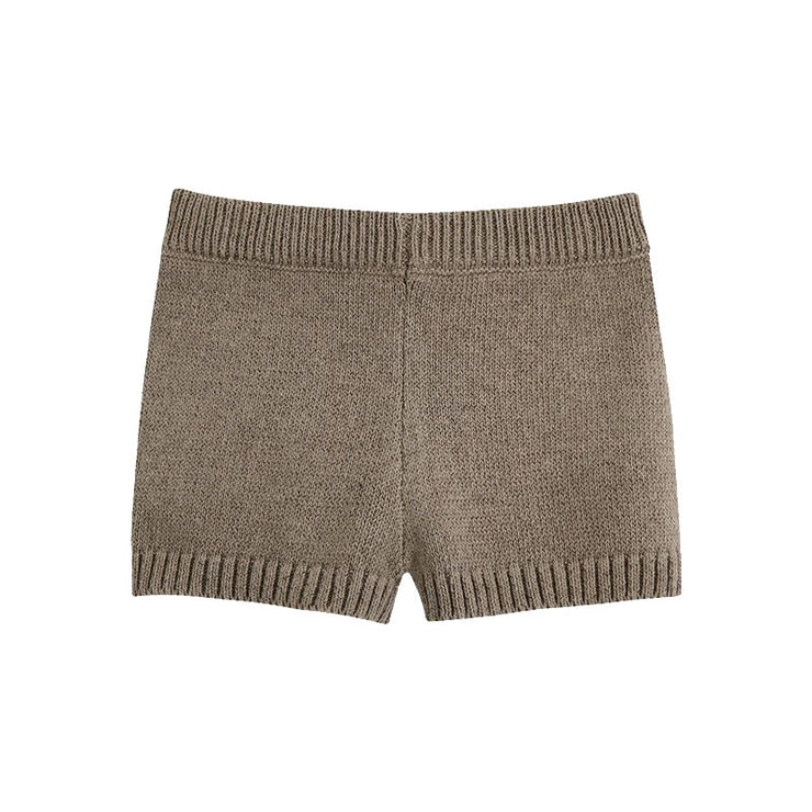 TRIM KNITTED SHORTS
