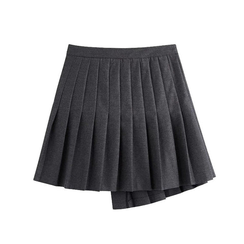 MINI SKIRT WITH BUCKLES