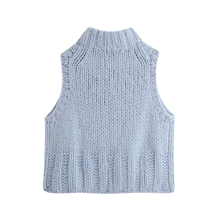 KNIT SWEATER VEST