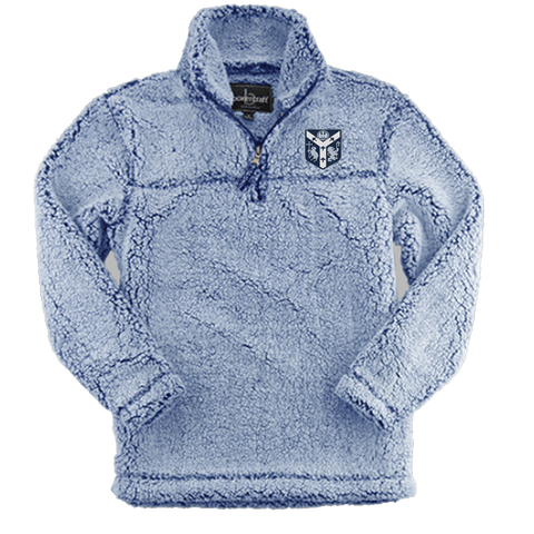 Boxercraft Light Blue Sherpa
