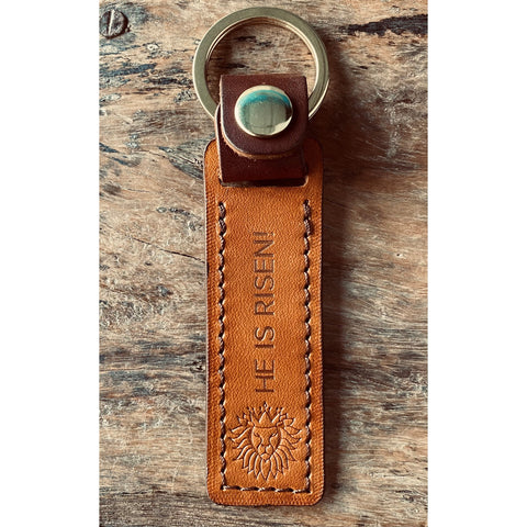 CUSTOM LEATHER KEY CHAIN - CREATE YOUR OWN
