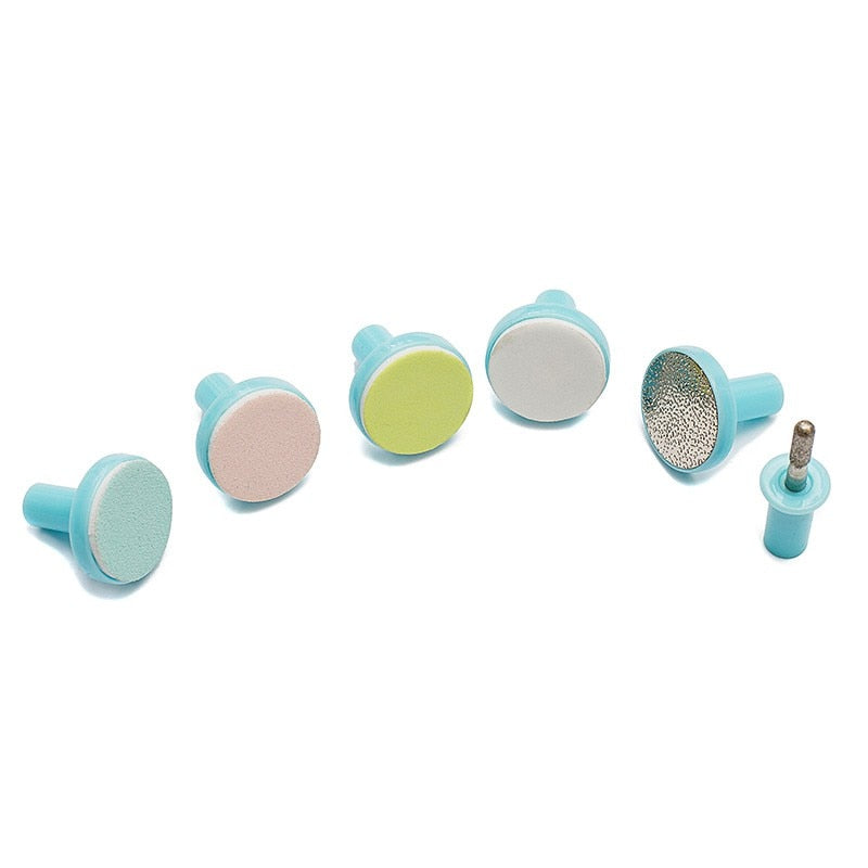 Extra Grinding Head Replacement Set For Premium Baby's Nail Trimmer