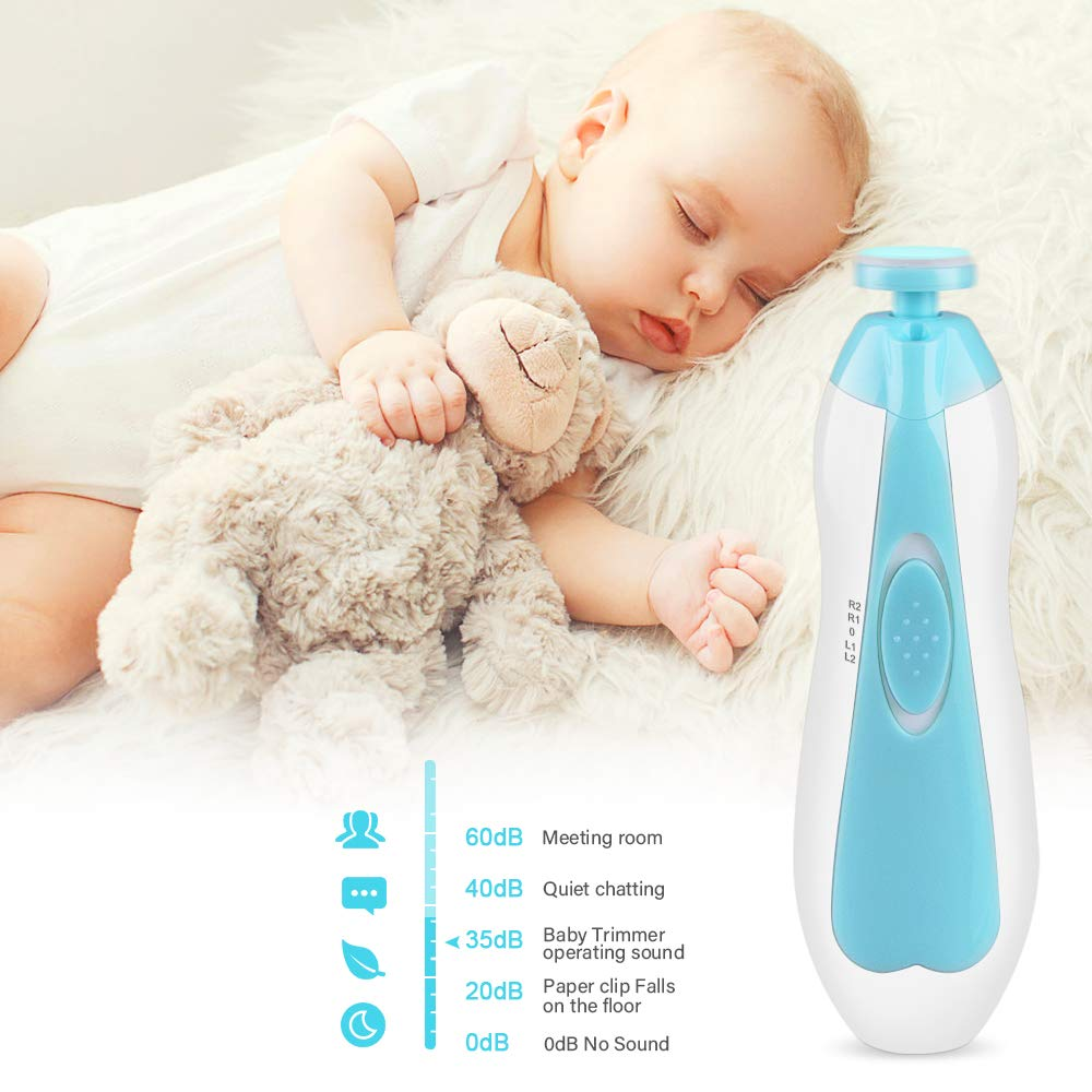 TinyHands™ Premium LED Baby Nail Trimmer Set