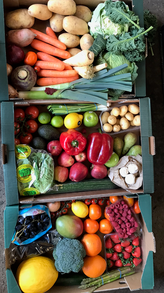 Fruit and Veg box  - Friday 12th February 2021  - Rainham, Lower Halstow, Gillingham, Upchurch and Newington Only