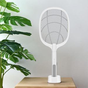 electric mosquito swatter ➕ mosquito killer lamp (2 in 1)