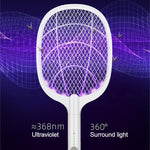 Load image into Gallery viewer, electric mosquito swatter ➕ mosquito killer lamp (2 in 1)