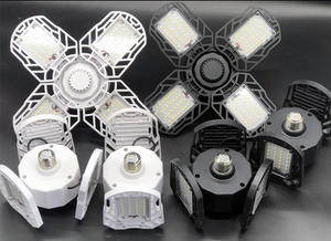 (2020 Upgraded)Four-Leaf LED Garage Lights