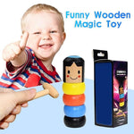 Load image into Gallery viewer, Unbreakable wooden Man Magic Toy