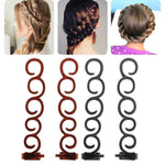 Load image into Gallery viewer, Twist Plait Hair DIY Braid Hairdressing Tools (2pcs)