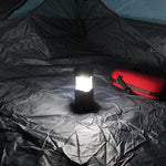 Load image into Gallery viewer, 3-in-1 Camping Lantern,Portable Outdoor LED Flame Lantern Flashlight