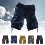 Load image into Gallery viewer, Men Summer Camouflage Shorts