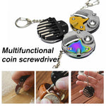 Load image into Gallery viewer, Multifunctional coin screwdriver