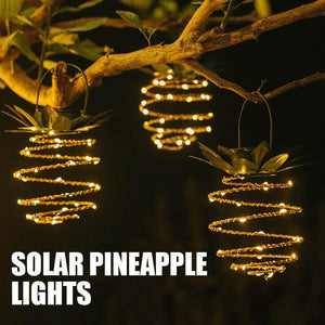 Waterproof Solar Pineapple Lights