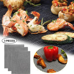Load image into Gallery viewer, Reusable PTFE-Fiberglass Grill Mat