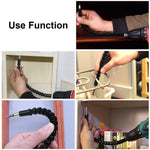 Load image into Gallery viewer, Flexible Drill Bit Extension with Screw Drill Bit Holder