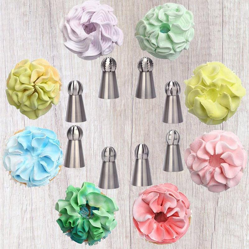 Cake Baking Decor Tool Set (8 PCs)