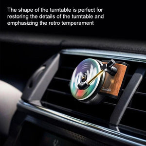 Record styling car perfume