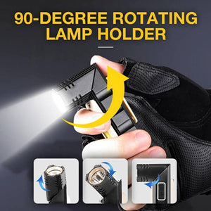 Multifunctional Magnet Anti-fall Flashlight